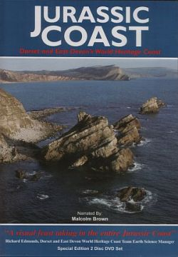 'Jurassic Coast' DVD cover